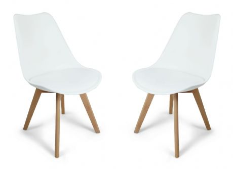 White Toulouse Tulip Eiffel Style Dining Chairs Sale Now On Your Price Furniture